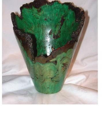 Burr Chestnut Vase